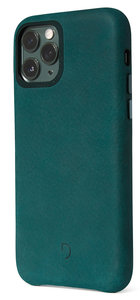 Decoded Leather Backcover iPhone 11 Pro Max hoes Groen