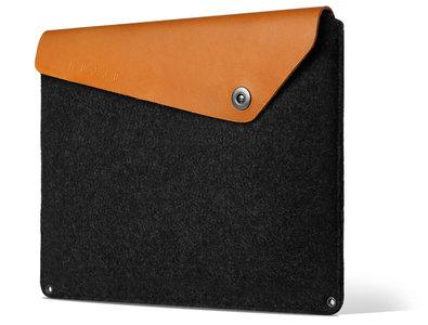 Mujjo Originals MacBook Air 13 inch sleeve Grey/Brown
