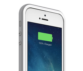 mophie Juice Pack Plus iPhone 5/5S case White