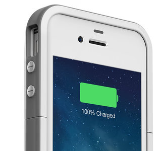 mophie Juice Pack Plus iPhone 4/4S White