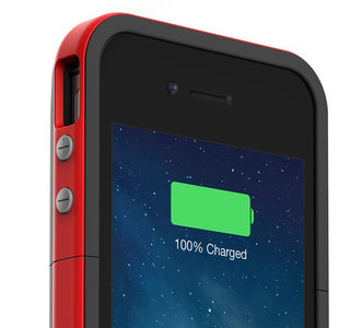 mophie Juice Pack Plus iPhone 4/4S Product Red