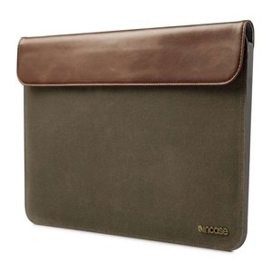 Incase Pathway Slip sleeve Air 11 inch Olive Canvas