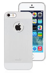Moshi iGlaze Armour case iPhone 5/5S Silver