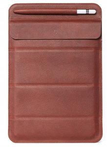 Decoded Leather Foldable iPad 2019 sleeve Bruin