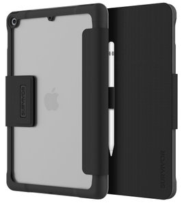 Griffin Survivor Tactical iPad 2019 10,2 inch hoesje Zwart