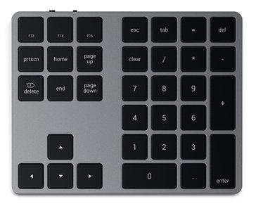 Satechi Bluetooth Extended KeyPad toetsenbord Grijs