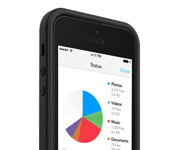 mophie space pack case iPhone 5/5S 16 GB Black