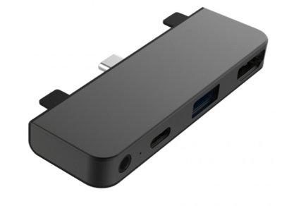 HyperDrive USB-C Mobile iPad Pro 4 in 1 hub met HDMI Grijs
