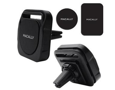 MacAlly MRINGPOPMAG 3 in 1 magnetische autohouder Zwart