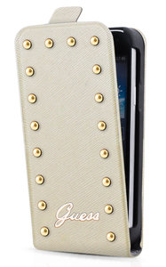 GUESS Studded Flip case iPhone 5C Cream