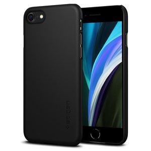 Spigen Thin Fit iPhone SE 2020 / 8 hoesje Zwart