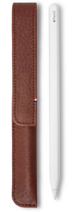 Decoded Leather Magnetic Apple Pencil sleeve Bruin