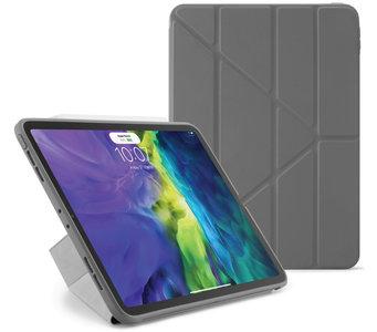 Pipetto Origami TPU iPad Pro 11 inch 2020 hoesje Grijs