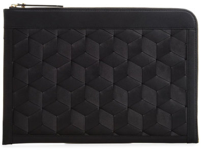 Welden Hexagon Improviser MacBook Pro 13 inch sleeve Zwart