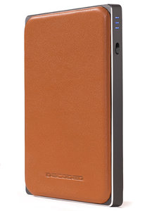 Decoded Leather Powerbank 6000 mAh Brown
