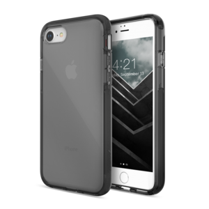 X-Doria Defense Clear iPhone SE 2020 hoesje Zwart