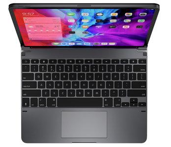Brydge Pro Plus toetsenbord en trackpad iPad Pro 12,9 inch hoesje Grijs