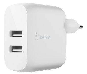 Belkin BoostCharge USB thuislader 24 watt Wit