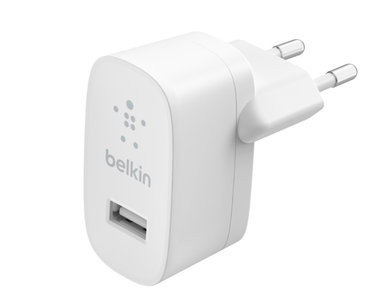 Belkin BoostCharge USB thuislader 12 watt Wit