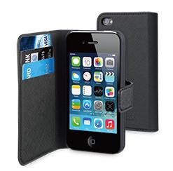 Muvit Slim Folio case iPhone 4S Black