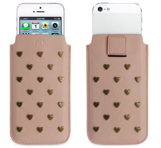 Fab Studs Pouch iPhone 5/5S/5C Pink
