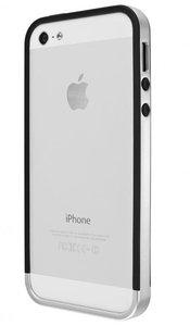 Artwizz Bumper II case iPhone 5/5S Silver