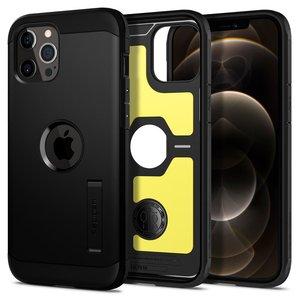 Spigen Tough Armor IPhone 12 Pro / iPhone 12 hoesje Zwart