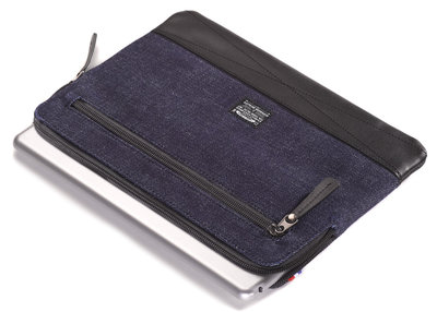 Decoded Denim sleeve iPad Air Code Blue