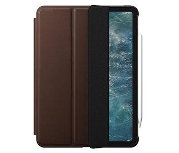 Nomad Leather Rugged Folio iPad Pro 11 inch 2020 hoesje Bruin
