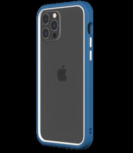 Rhinoshield CrashGuard NX iPhone 12 Pro / iPhone 12 hoesje Blauw / Wit