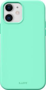 LAUT Huex Pastels iPhone 12 mini hoesje Mintgroen