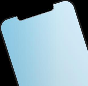 BodyGuardz PRTX EyeGuard iPhone 12 Pro / iPhone 12 glazen screenprotector