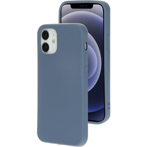 Mobiparts Silicone iPhone 12 mini hoesje Grijs