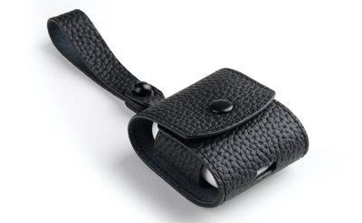 Melkco Leather AirPods hoesje Zwart