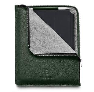 Woolnut Leather Folio iPad Pro 12,9 inchhoesje Groen