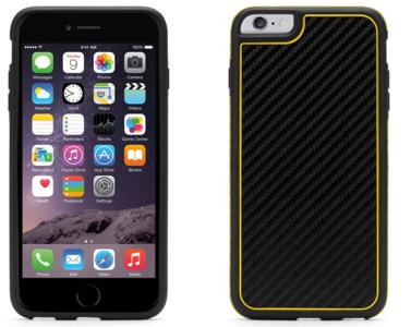 Griffin Identity Graphite case iPhone 6 Plus Yellow
