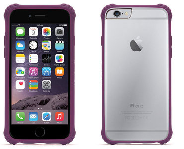 Griffin Survivor Clear case iPhone 6 Purple