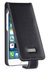 Pipetto Leather Flipcase iPhone 6 Black