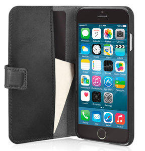 Pipetto Leather Wallet iPhone 6 Black