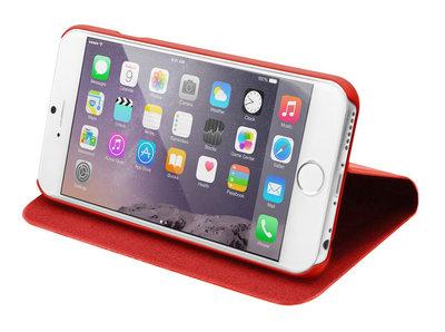 LAUT Apex Folio Bookcase iPhone 6 Plus Red