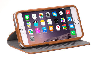 Decoded Leather Surface Wallet case iPhone 6 Plus Brown