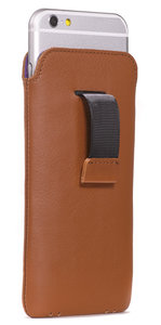 Decoded Leather Pouch Strap iPhone 6 Brown