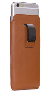 Decoded Leather Pouch Strap iPhone 6 Plus Brown