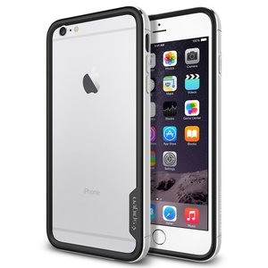 Spigen SGP Neo Hybrid Metal bumper iPhone 6 Plus Silver
