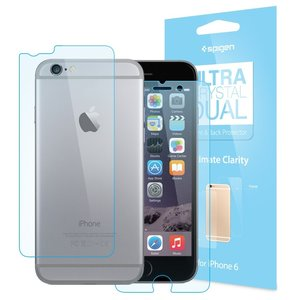 Spigen SGP Ultra Crystal Dual iPhone 6 screenprotector
