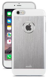 Moshi iGlaze Armour case iPhone 6 Plus Silver