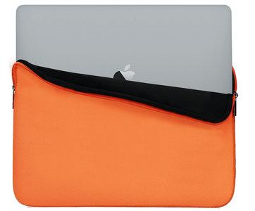 hoesie perfecte MacBook 13 inch sleeve oranje