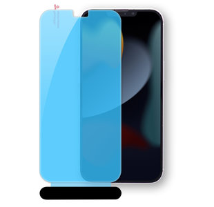 Glaasie iPhone 13 Pro / iPhone 13 Glazen screenprotector met applicator