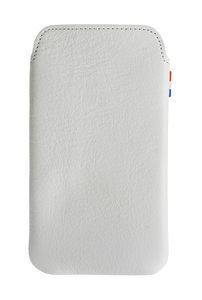 Decoded Leather Pouch voor iPhone 4/4S White
