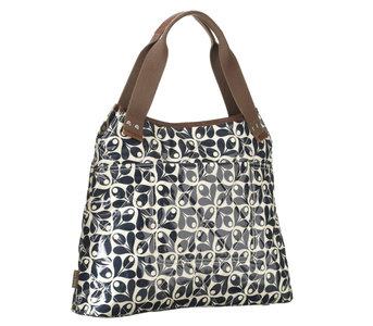 Orla Kiely Classic Shoulder Bag Navy